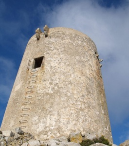 Albercutx tower 16th century Pollensa Mallorca