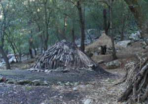 Charcoal kiln Serra Tramuntana mountains